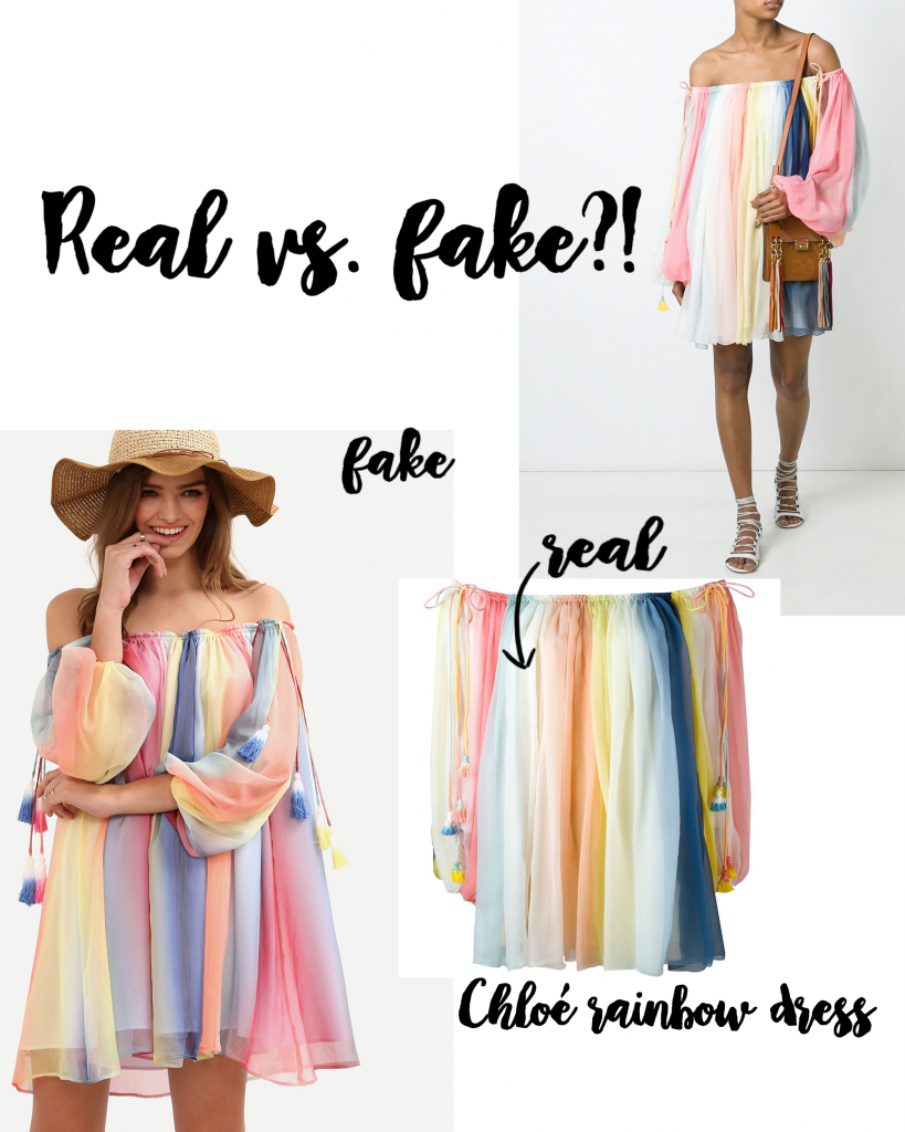 Realvs.FakeChloeDress